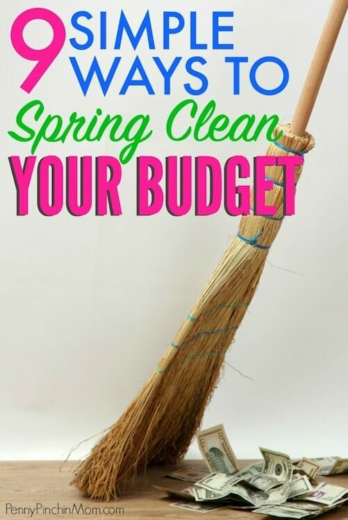 clean your budget