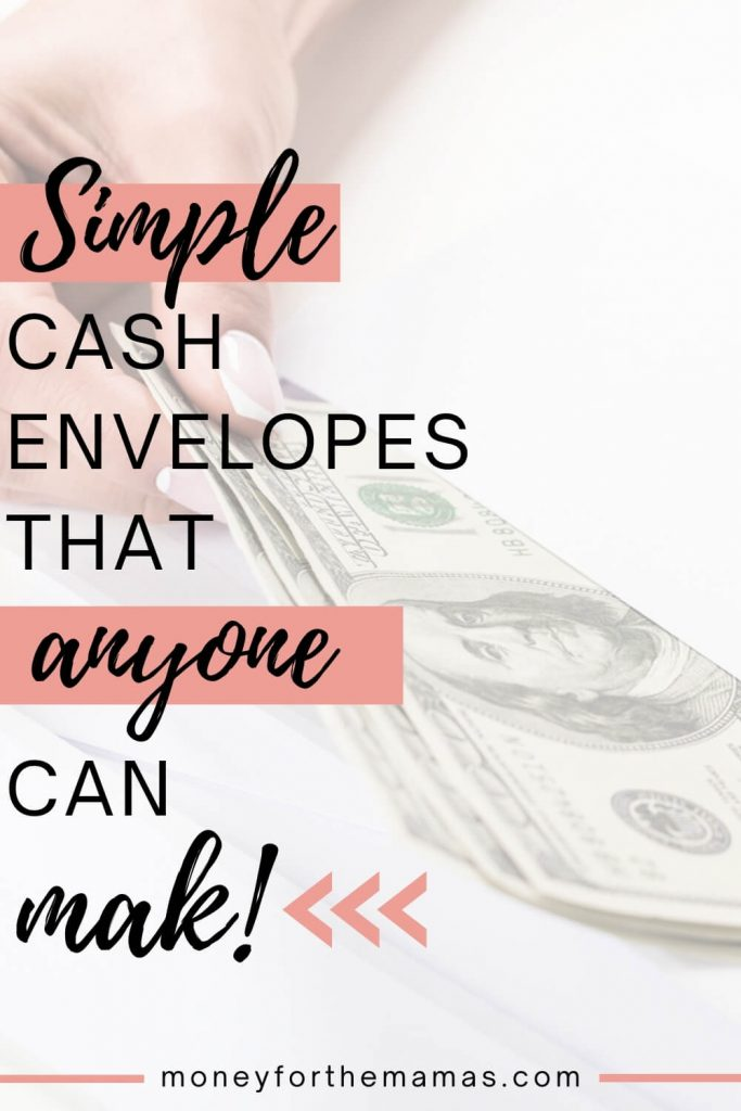 simple cash envelopes that anyone can make